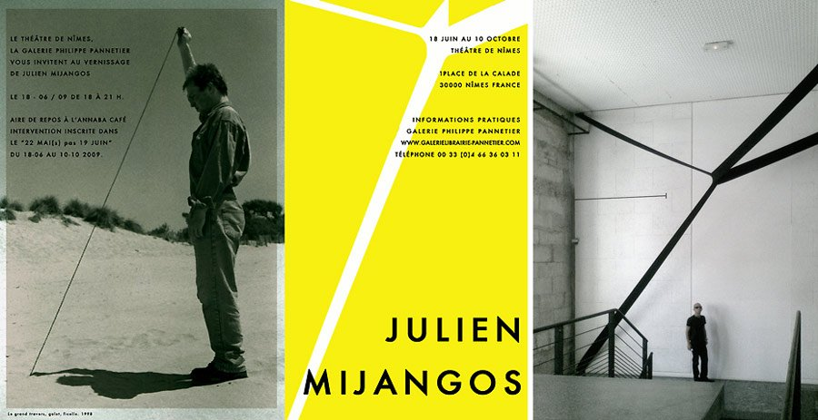 JULIAN MIJANGOS À NÎMES mijangosexpositionthtrenimesgaleriepannetier